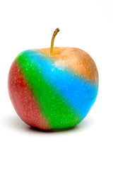Rainbow apple