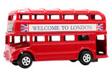 Toy Red Double Decker Bus