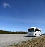 motorcoach,motorhome,rv poster