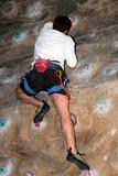 Klettern an der Wand poster
