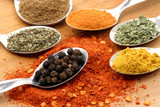 black pepper and the spices
