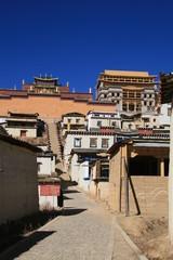 Tibetan monastery in Shangrila Lost Horizon