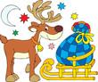 Santa Clause Reindeer