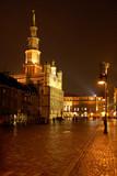 Nocne miasto w poznaniu