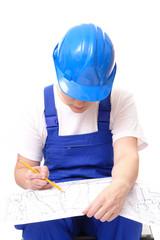 Building plan studying