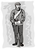 American civil war soldier poster