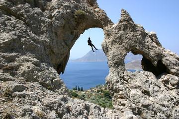 Escalade Kalymnos