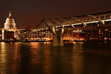 Millenium Bridge at Night
