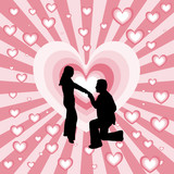 Marriage proposal poster