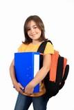 Schoolgirl poster