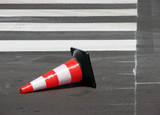 traffic cone poster