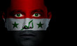 Iraqi Flag - Male Face