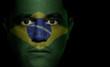 Brazilian Flag - Male Face