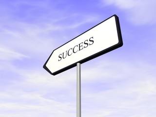chemin du succès success way