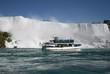 Tourists at Niagara Falls