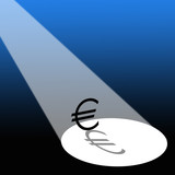 Euro in the spotlight poster
