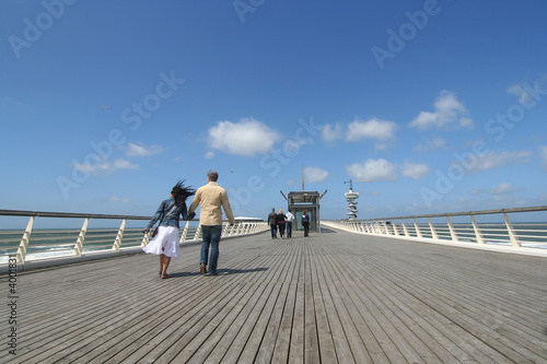 Walking the Pier