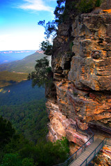 The Three Sisters, NSW, Australia..