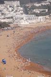 A beach in Agadir, Morocco poster