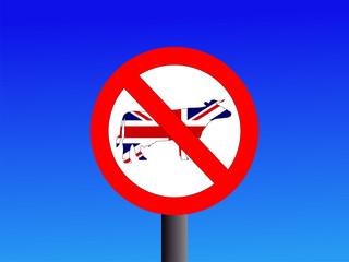 no british beef sign