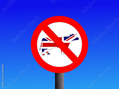 no british beef sign
