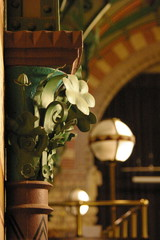 detail-wrought iron decoration