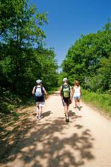 Marcheurs en randonnée