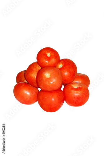 piramid of tomatos