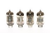 Old vacuum tubes poster