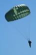 Leinwandbild Motiv Paratrooper's Descent