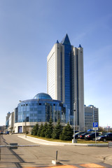 Headquarters of gas concern Gazprom