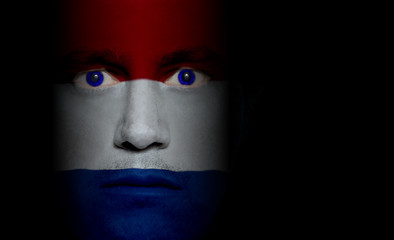 Dutch Flag - Male Face