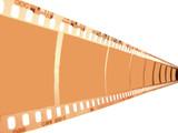 film strip slide motion poster