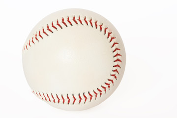 Base ball isolated on white background