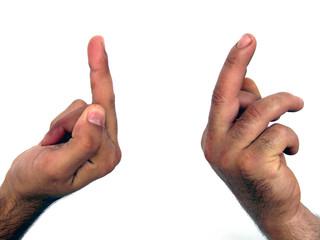 finger show