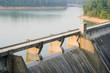 canvas print picture - Norris Dam