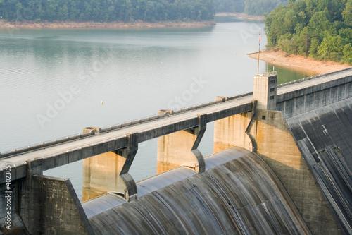 canvas print picture Norris Dam