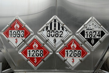 USDOT Hazardous Materials Placards