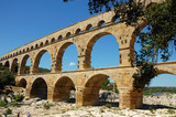 Pont du Gard - Roman Aqueduct in the South of France poster