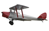 Tiger Moth with Clipping Path