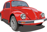 Vector Red `Bug`