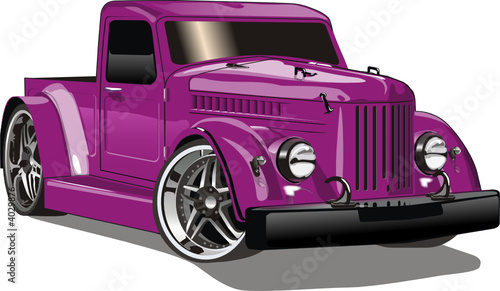 Vector Gaz Hot Rod