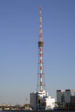 Television tower poster
