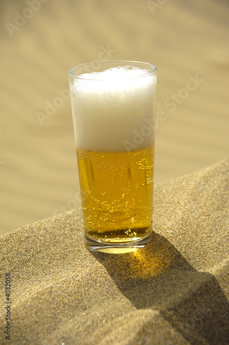 Beer in desert