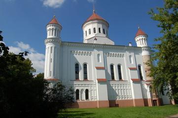 église orthodoxe à vilnius