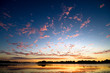 roleta: Gold dawn above lake