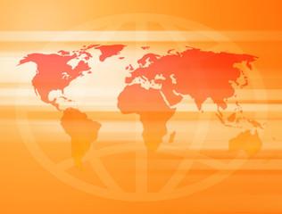Sunny World Map