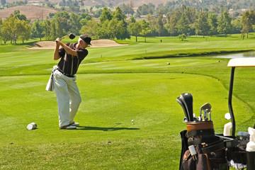 Golfing at a Resort