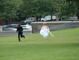 This runaway groom will not be saying I do at the altar. poster