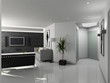 Modern home interior.